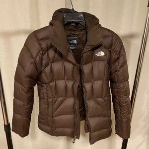 TNF puffy jacket